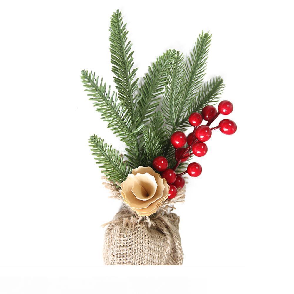 Noel Danışma Dekorasyon Mini Yılbaşı Ağacı Süsleme Dekorasyon Hediye