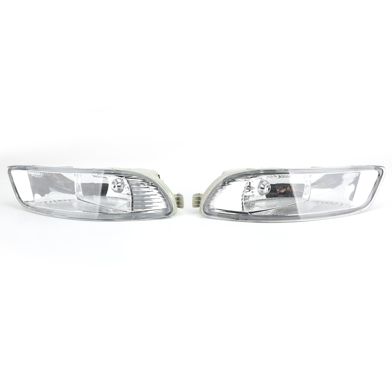 Areyourshop 2X Front Bumper Lamp Clear Fog Light For 2005-2008 To-yo-ta Corolla Camry Solara
