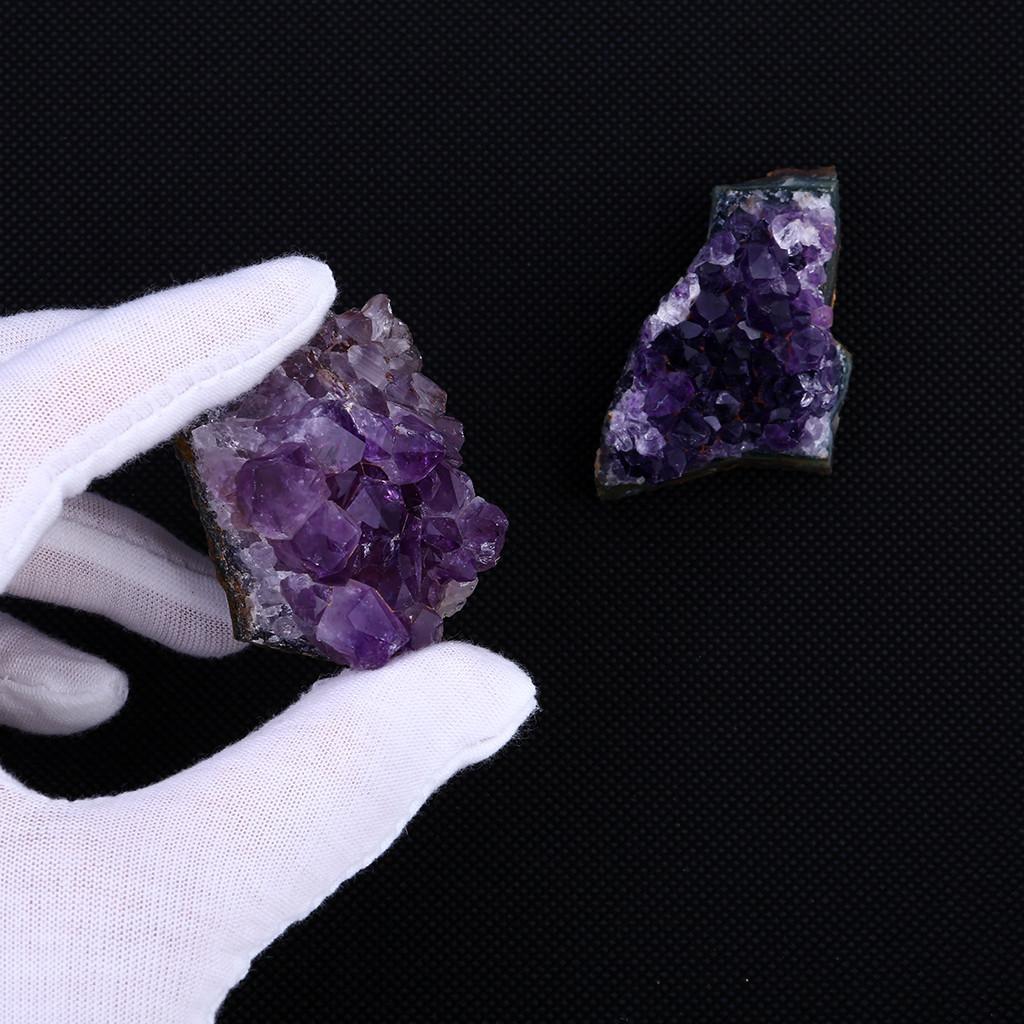 Amethyst premières naturelles Quartz Cluster de guérison Pierres Spécimen Décoration Artisanat Piedras naturales y minerales
