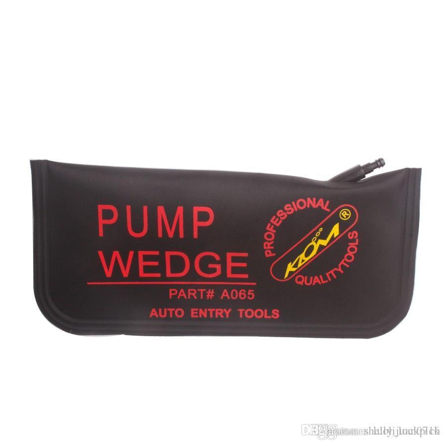 YENİ KLOM siyah hava pompası kama yastığı şişme kilit açma kapı araba oto aracı büyük beden 280 x125mm