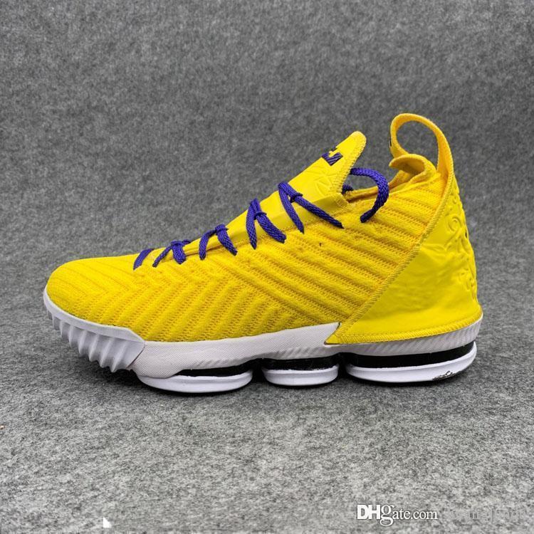 lebron 16 yellow