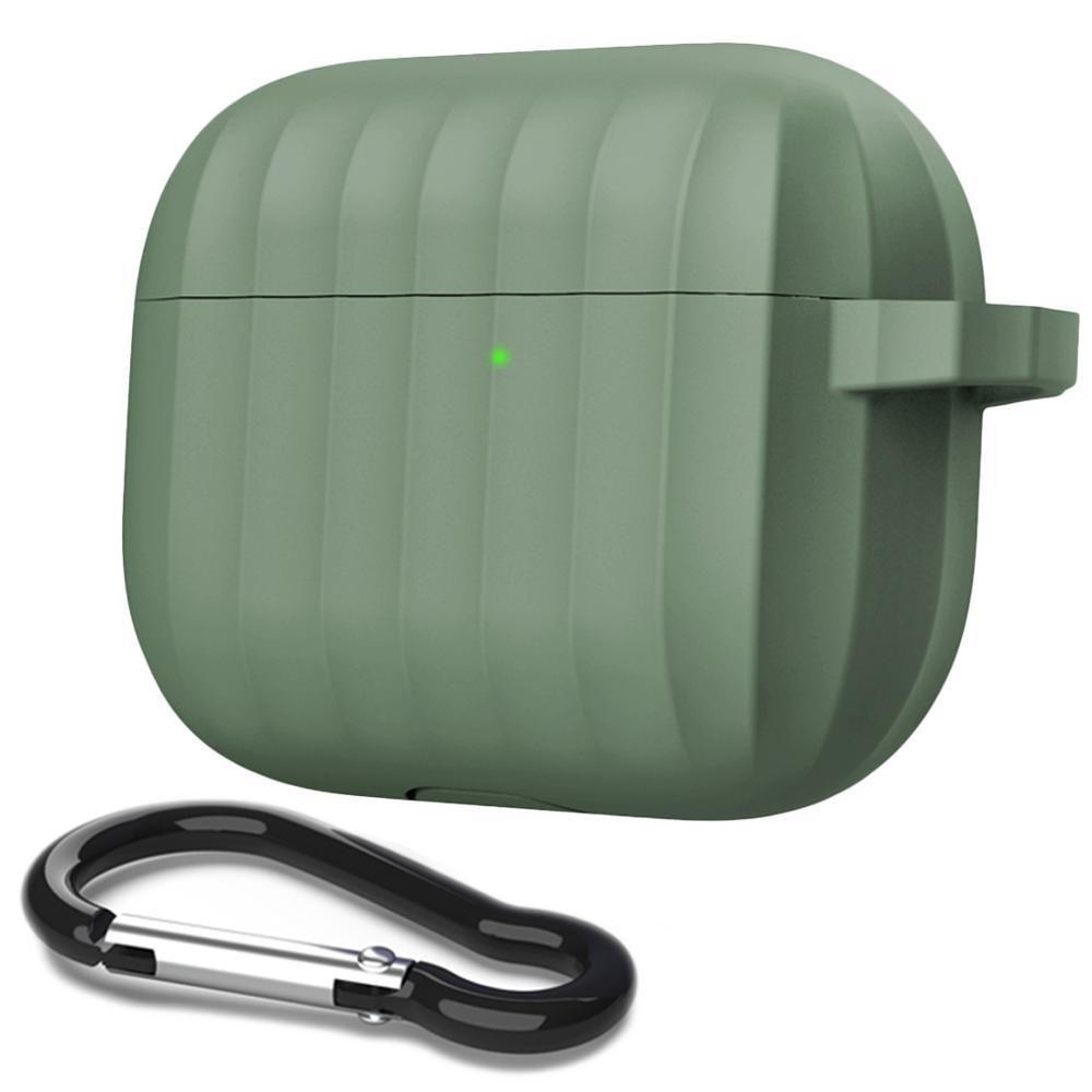 Para airpods caso airpods pro de lujo INS auriculares de protección Funda de silicona con mosquetón enchufe del polvo para AirPods Pro Bluetooth para auriculares
