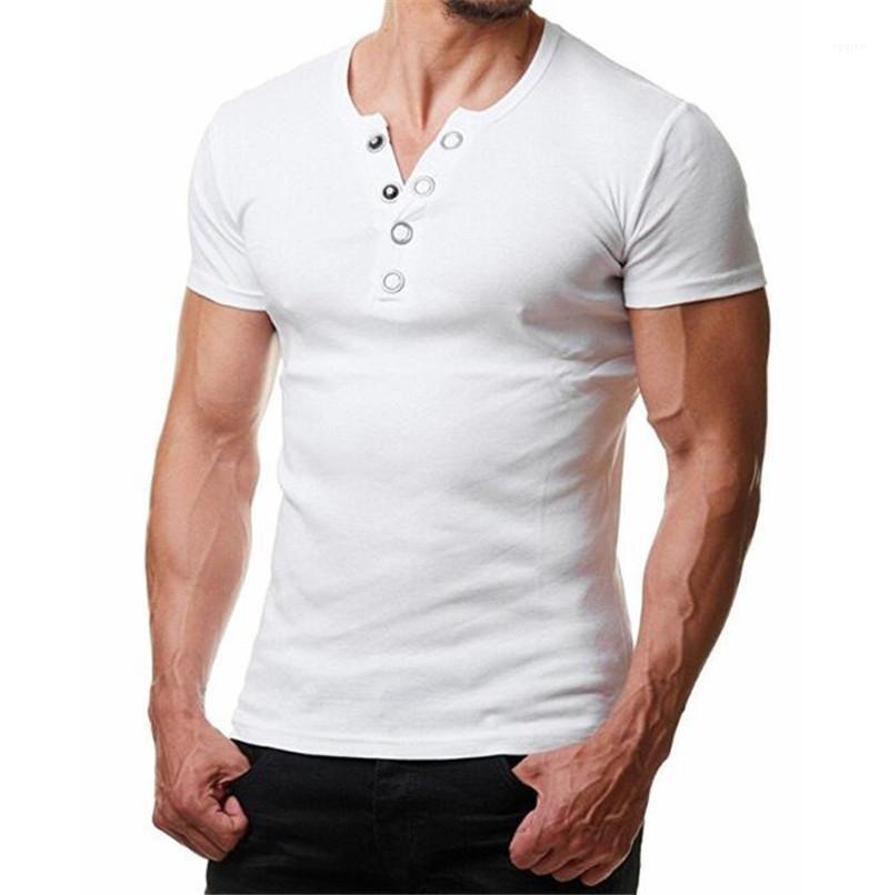 Hommes T-shirts à manches courtes Mode Sumer T-shirts Casual Slim ras du cou T-shirts Vêtements pour hommes Designer Pure Color