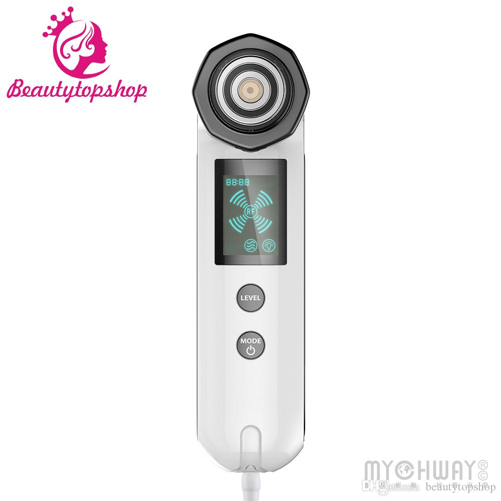 4 In1 Vibration RF Face Slimming Massager LED Photon Skin Beauty Machine Smooth Skin and Young Face