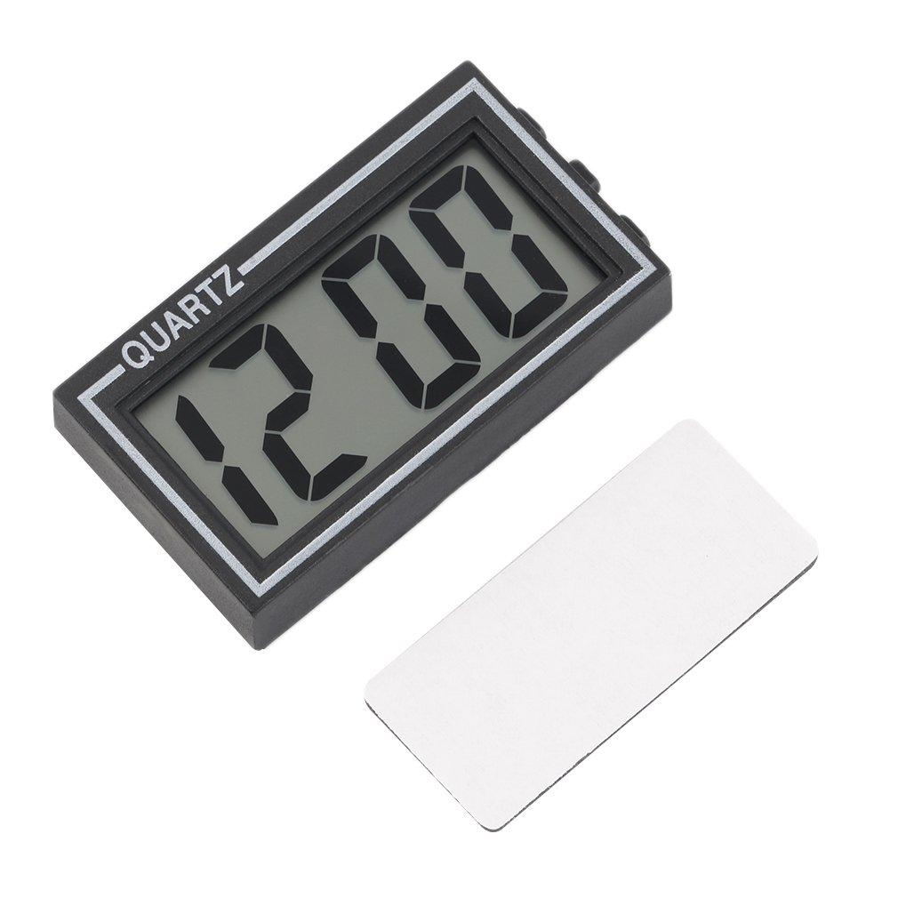 NEW Digital LCD Table Car Dashboard Desk Date Time Calendar Small Clock Durable