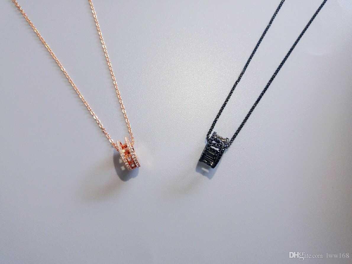 Lovers mode Collier exquis simple collier pendentif Narrating Collier Love 2 couleurs Livraison gratuite 002
