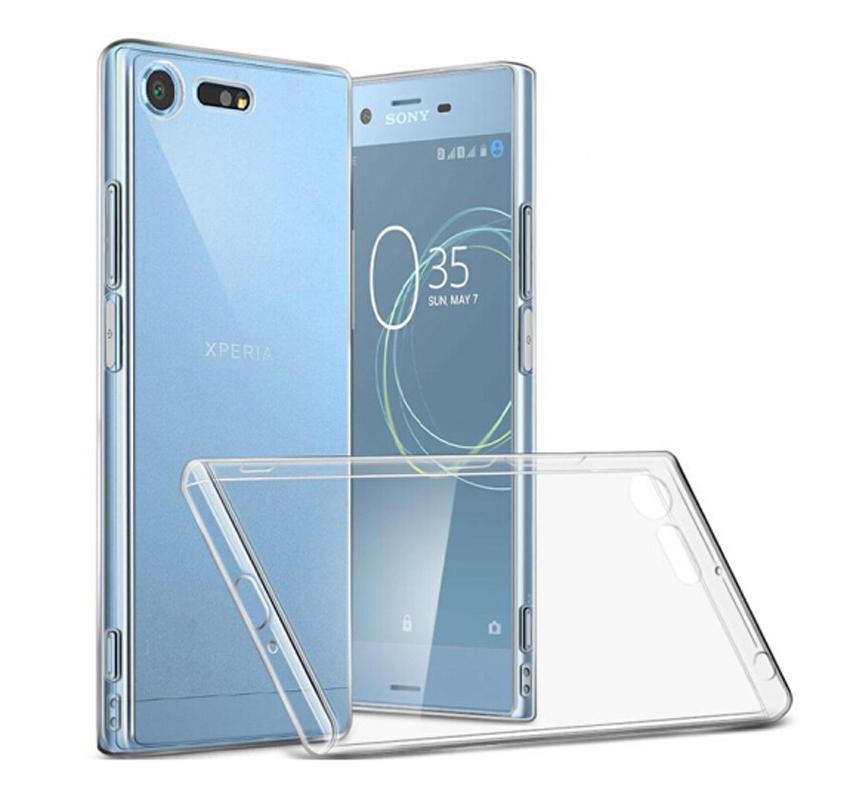 Dreamysow Case Transparent For Sony Xperia XZ1 XZs Z5 Compact XA1 Ultra Plus X XA XZ XZ Premium Plus L1 Z3 Soft TPU Cover