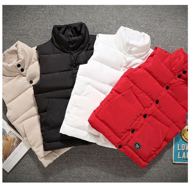 Giacca di cotone L'autunno e l'inverno Slim Coppia Cotone maglia degli uomini di giovani con spessore del collare del basamento della maglia e la spalla Large Size S-5XL