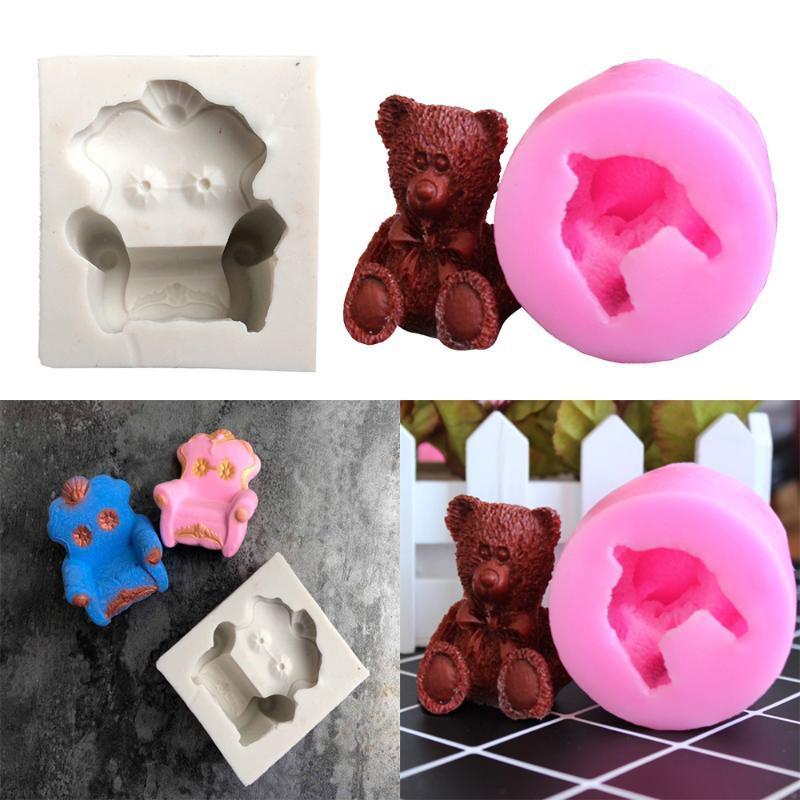 3D Silicone Molds Cake Sofa shape Decorating Cake Tool Bakeware Dessert Mousse Mold Baking Cupcake Chocolate muld