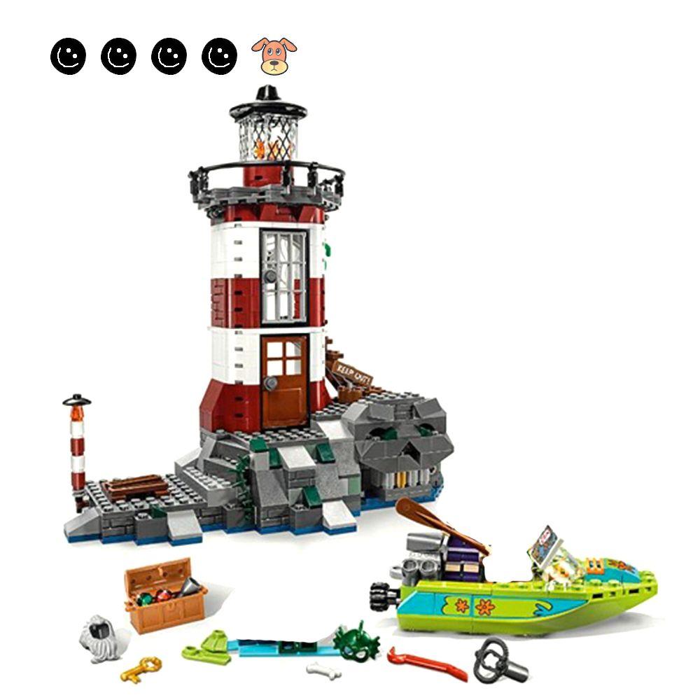 Scooby-Doo 75903 Haunted Lighthouse 437 Pcs Building Blocks Kit