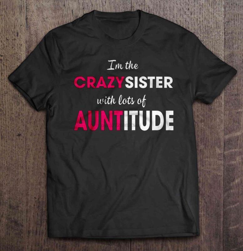 И. М. Crazysister с большим количеством Auntitude футболки
