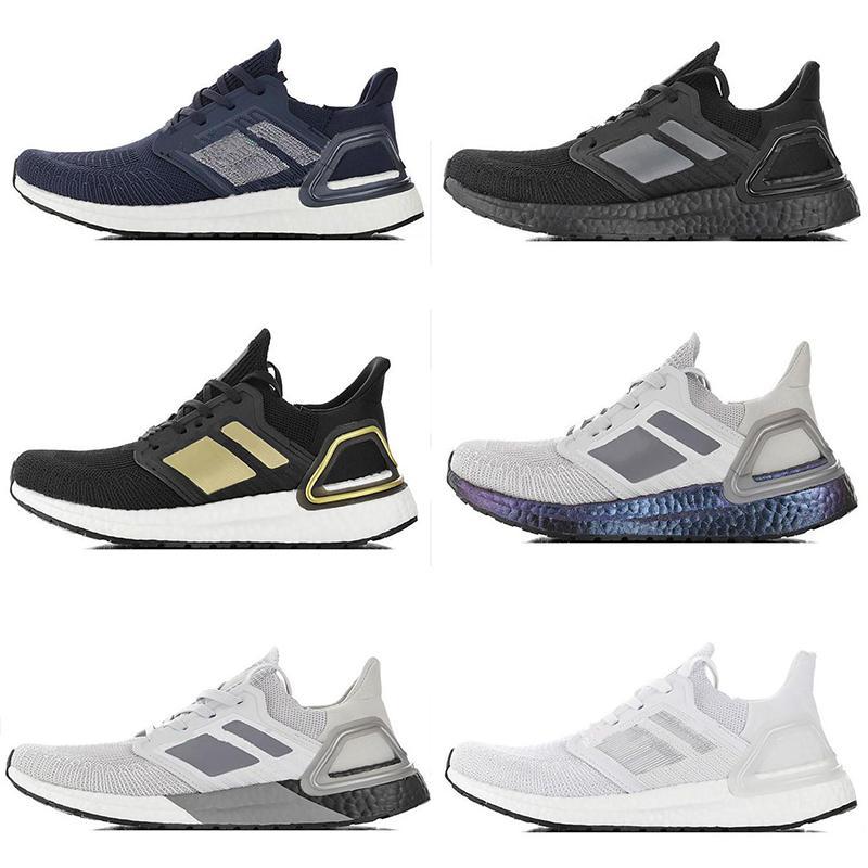 Neue heiße TPU Sohle Sandalen Ultraboost6.0 Außenlaufschuhe Weiß Schwarz Refract Primeknit dunkle Pixel Frauen der Männer im Freien Schuhe Schuhe