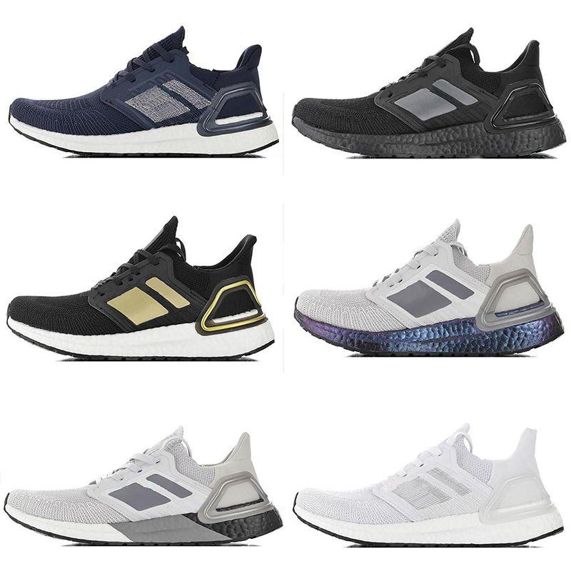 Nueva caliente TPU únicas sandalias Ultraboost6.0 al aire libre zapatos Blanco Negro Refract Primeknit oscuro pixel al aire libre para mujer para hombre Zapatos zapatos para correr