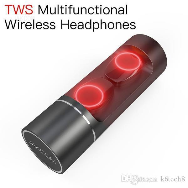 JAKCOM TWS Auriculares inalámbricos multifuncionales nuevos en auriculares Auriculares como collar de cámara de perro espía tailandés relojes hombres muñeca