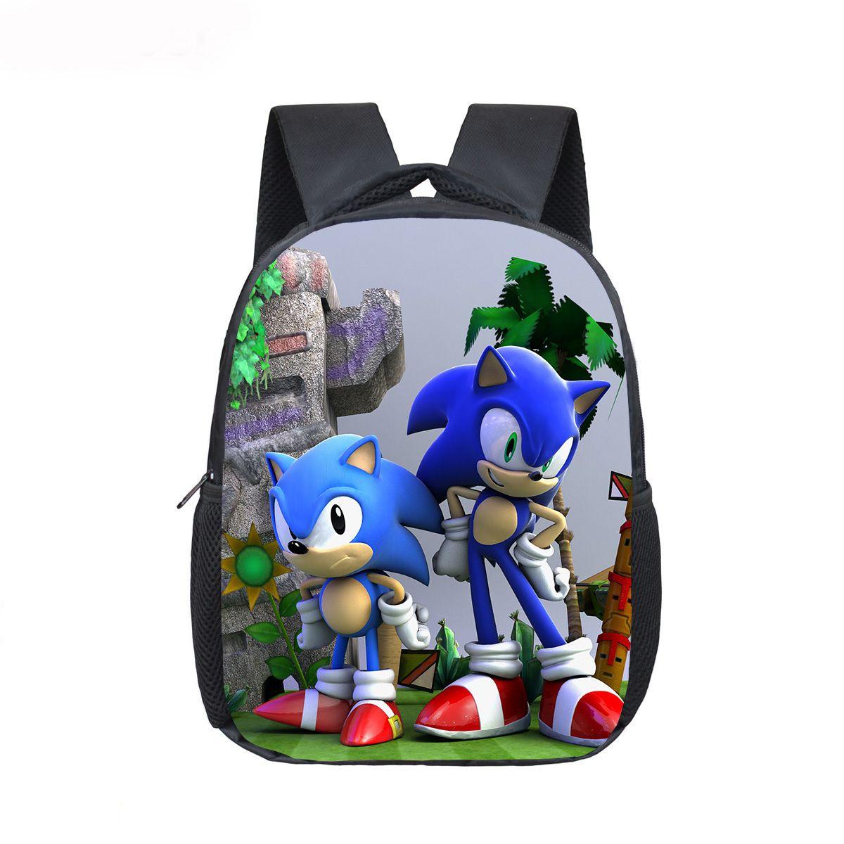 12 Inch Mario Bros Sonic Boom Hedgehogs Kindergarten School Bags Bookbags Children Baby Toddler Bag Kids Backpack Gift Backpacks For Teens Cheap Backpacks From Weitaotao 49 85 Dhgate Com