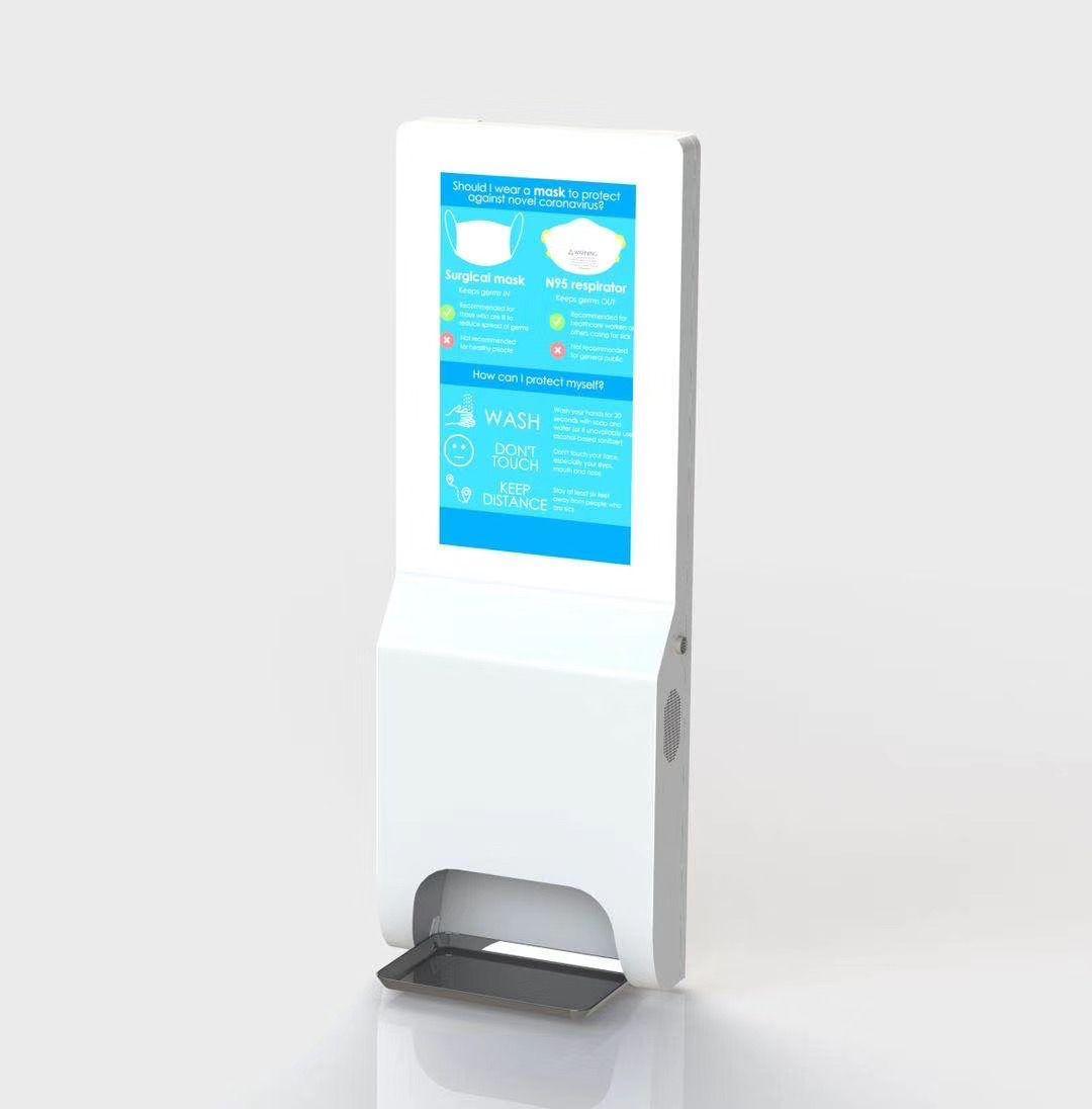 21.5inch AUTOMO AUTOMÁTICO AUTOMÁTICO LCD Advertense Pantalla WiFi Publicar contenido de contenido Montaje de pared
