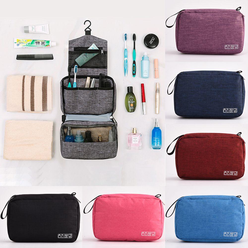 ماء معلق أدوات الزينة حقيبة سفر ماكياج التجميل المنظم التخزين القضية