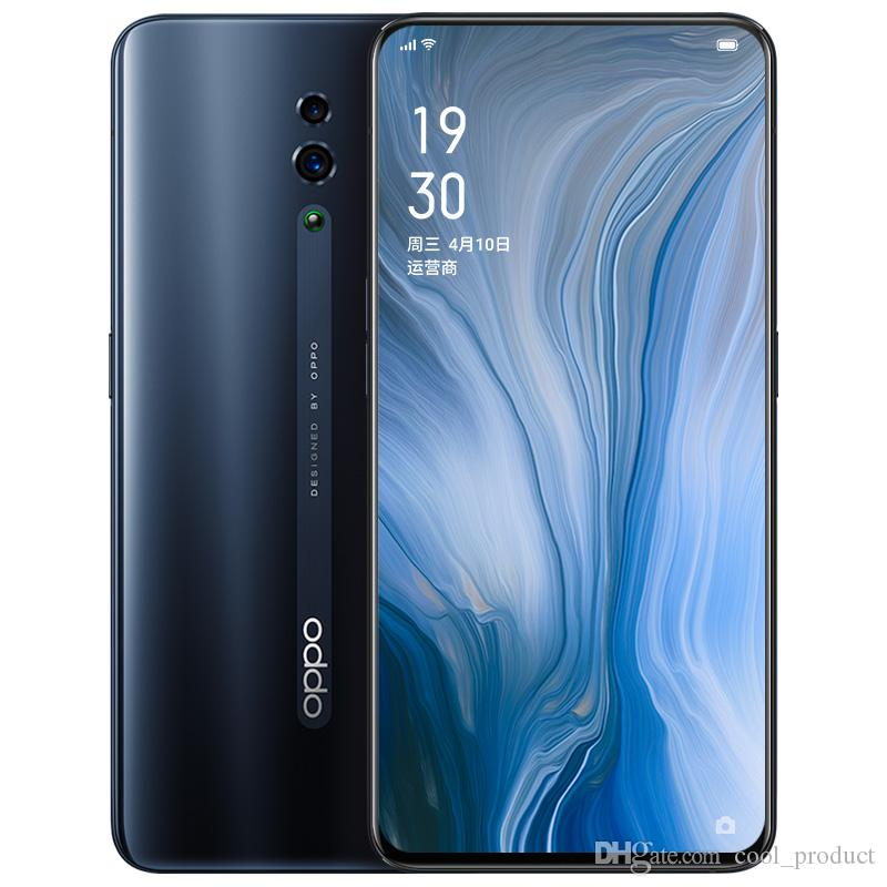 """Original OPPO Reno 4G LTE Cell Phone 6GB RAM 128GB 256GB ROM Snapdragon 710 Octa Core Android 6.4"""" Full Screen 48.0MP Face ID Mobile Phone"""
