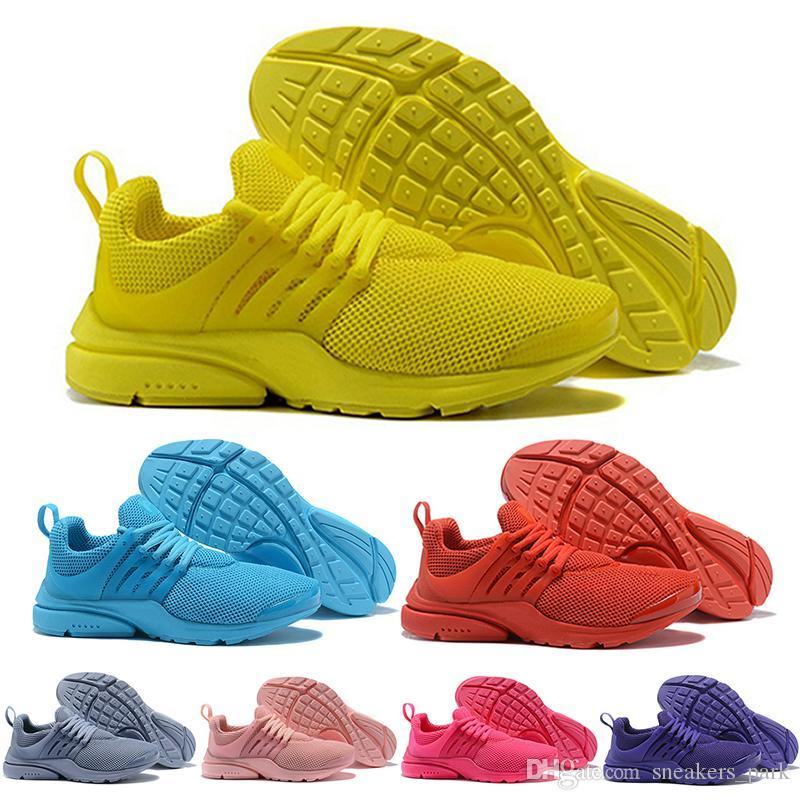 Miglior PRESTO 5 BR QS Uomini Donne da jogging scarpe da Oreo Giallo Viola Balck Rosa Scarpe da corsa stilista piedi scarpe da tennis 36-46