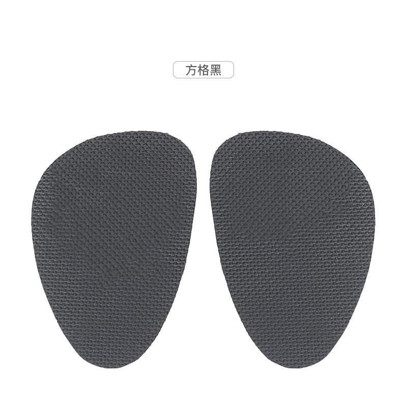 1pair autoadesiva antiscivolo Pads scarpe tacco alto Mat Cuscino Sole protezione in gomma sottopiede avampiede Tacchi alti Sticker Pad Nuovi