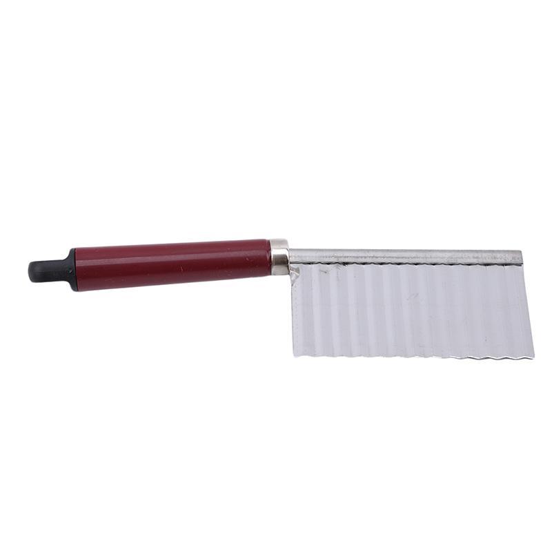 2020 New Potato gewellte umrandete Messer-Edelstahl-Küche Gadget Kochen Werkzeuge Zubehör, Gemüse, Obst Slicing Peeler Schnitte