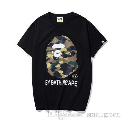 Мужские дизайнерские футболки непобежденные от купания обезьяны белая футболка хлопок обезьяна печатный спорт это война летние рубашки мужчины тройники