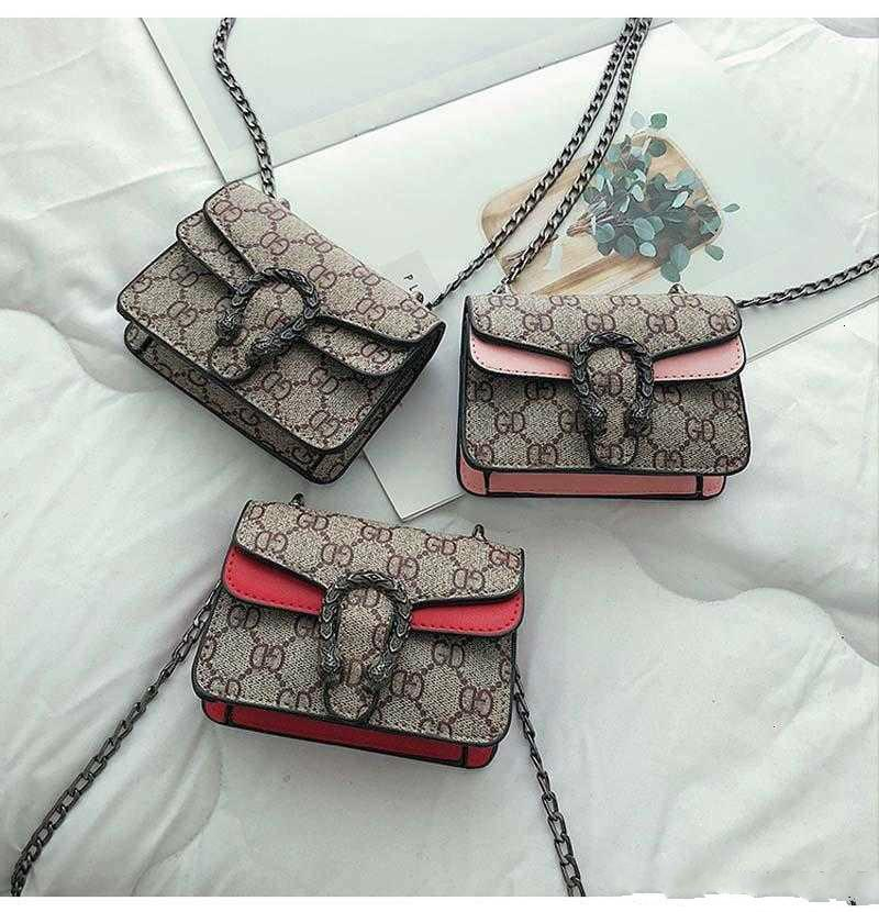 5 PC를 아이들 지갑 여자 미니 공주 패션 패턴 디자인 소녀 지갑 어린이 체인 크로스 바디 백 Candly 가방 지갑 아이