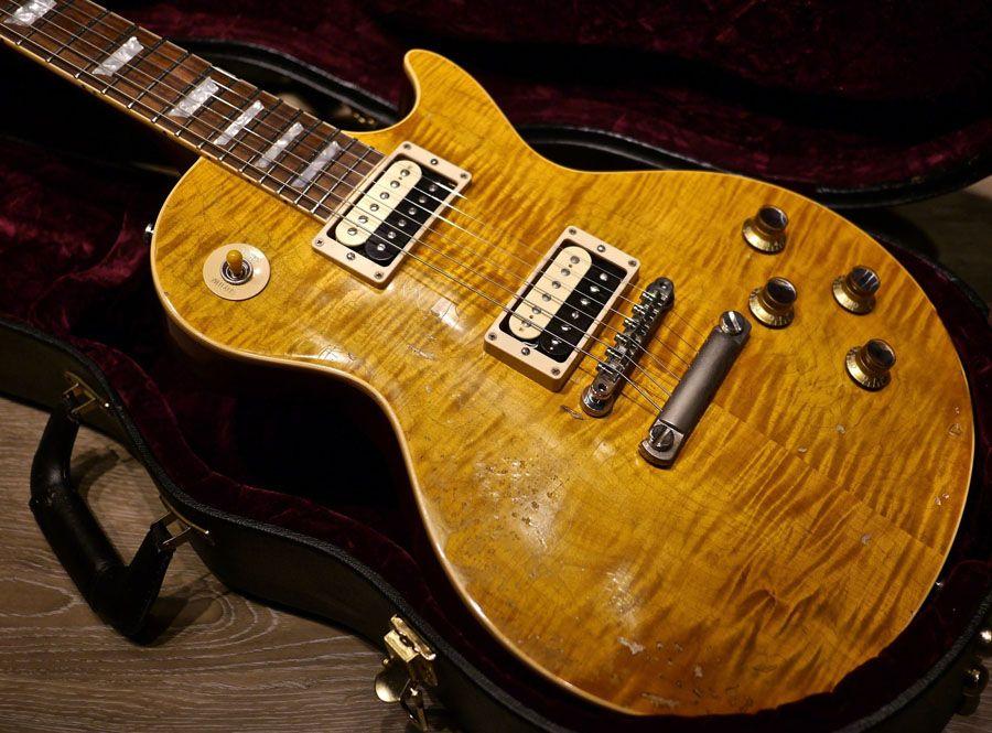 Chitarre elettriche di qualità anziana chitarra elettrica Guitarre del corpo, Slash invecchiato