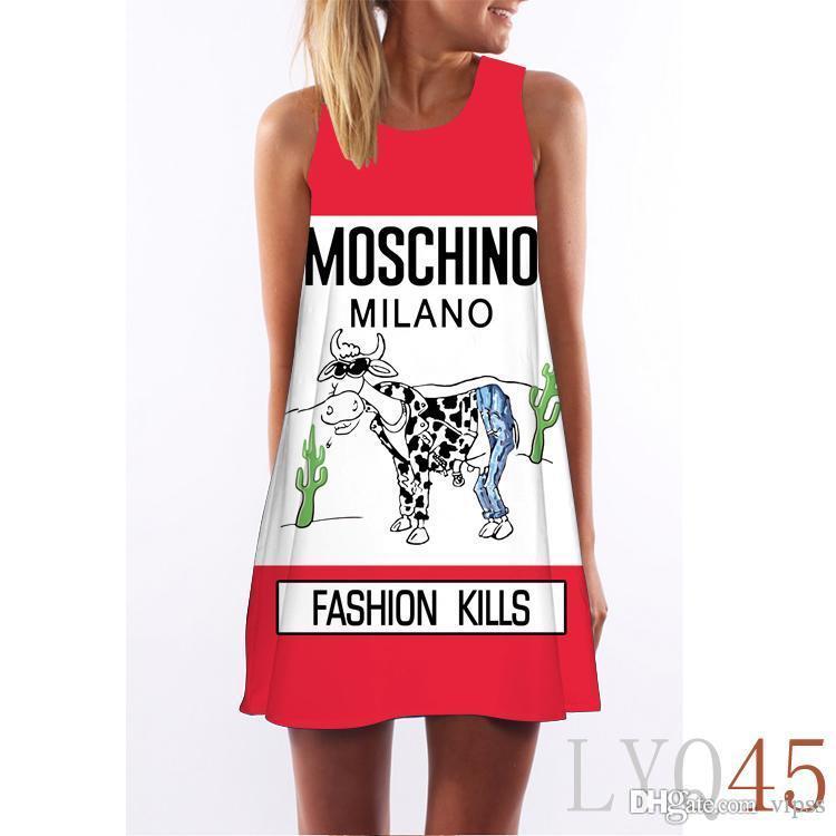Hot!Women Floral Print Sleeveless Dress Evening Gown Party Short Maxi Dress Summer Sundress Casual Womens Clothing Apparel Dresses LYQ44-64.