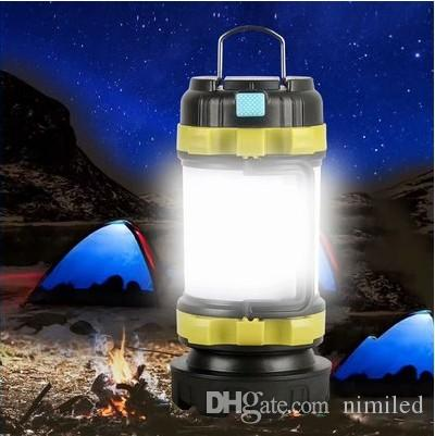 50000LM LED Camping Light USB Rechargeable Flashlight Dimmable Spotlight Work Light Waterproof Searchlight Emergency Torch LLFA