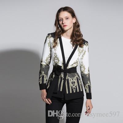 Mode élégant Vestes Cardigans, Automne et Hiver, Outwear Lady Girl, Tendances manteaux, avec taille Jupettes