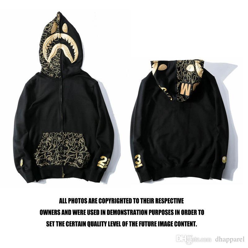 Nuovo commercio all'ingrosso amante nero cardigan zipper con cappuccio in cotone casual maglione uomo donna casual hip hop cerniera maglione streetwear