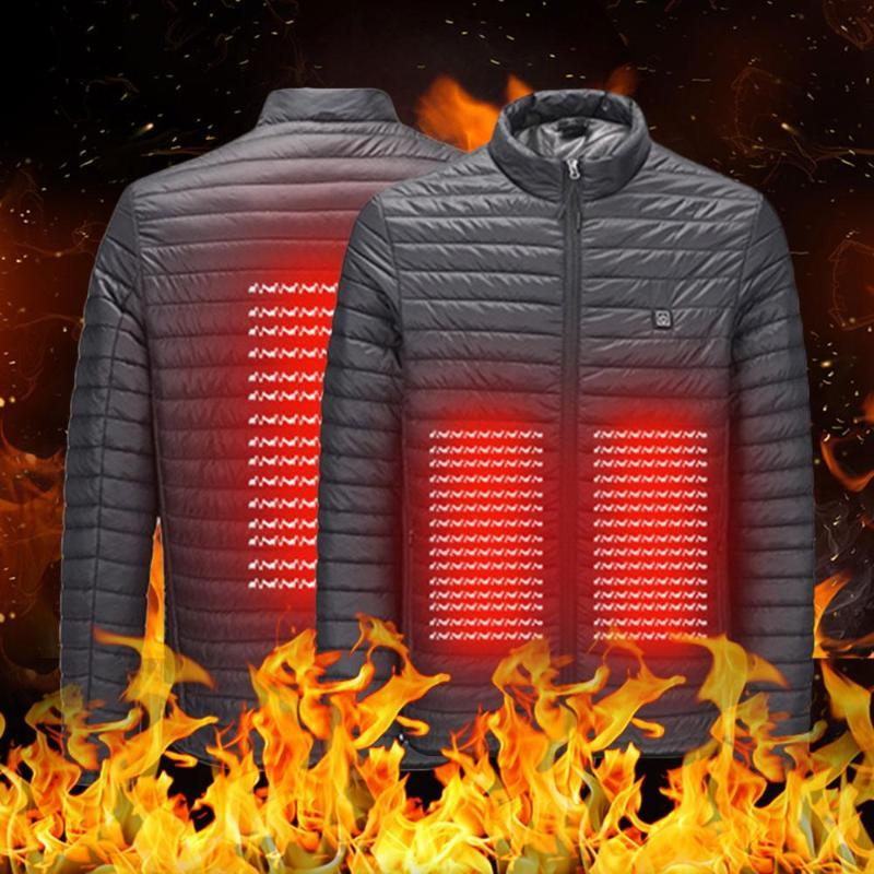 2019 new high quality men and women motorcycle infrared heating jacket flexible winter warm fashion VIP