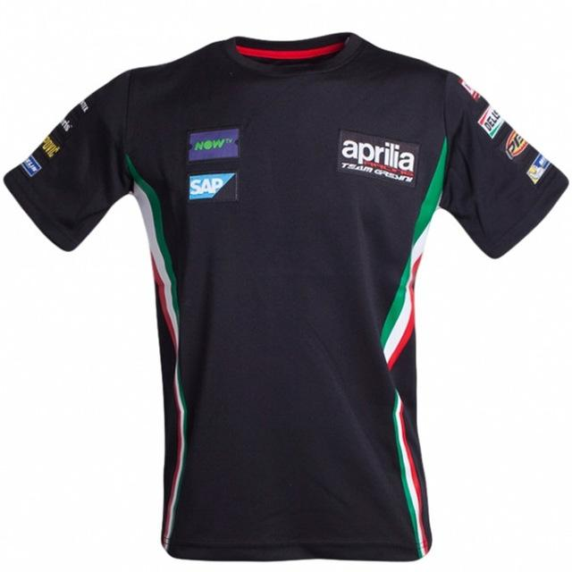 MotoGP Trikots Motocross T Shirts Downhill Dirt Bike Sweatshirt ATV Trikots Aprilia Motorrad Team Sweatshirt schnell trocken J