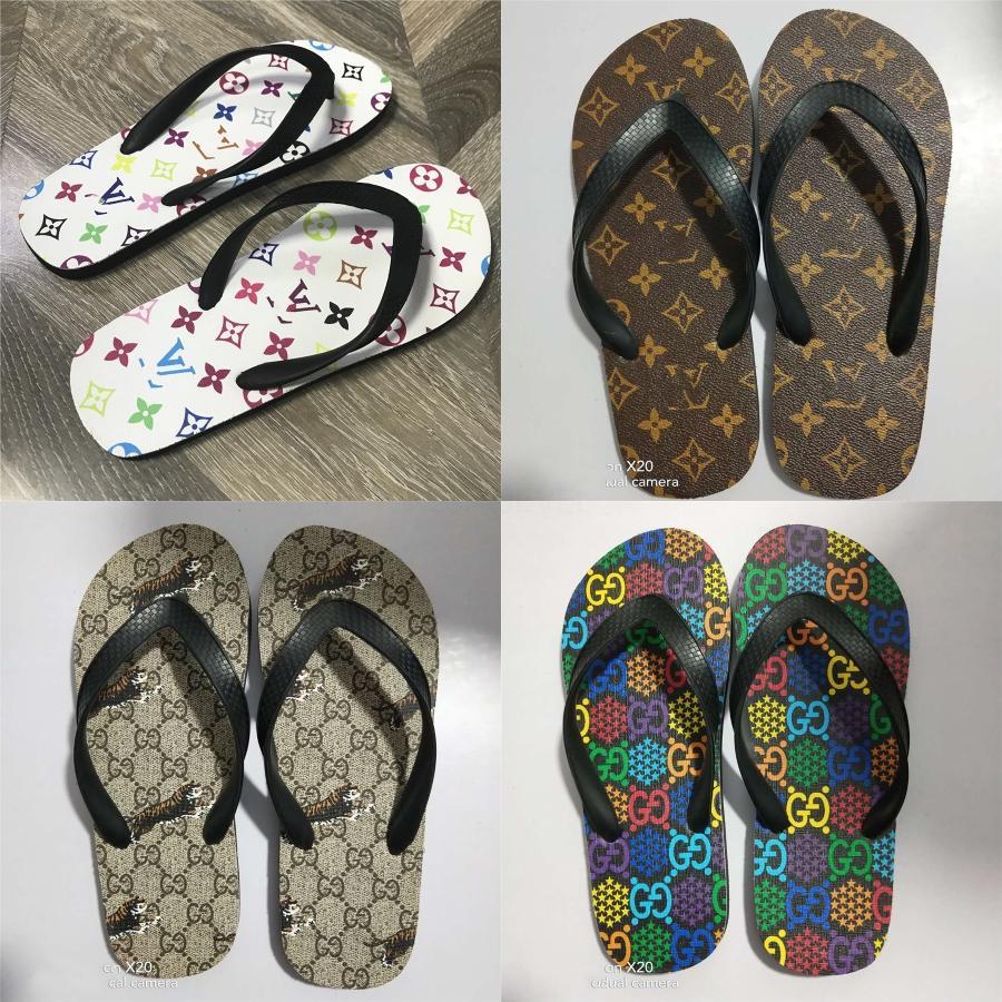 2020 100% natürlicher Geniue Pelz und Raccon Fur Slipper mit ursprünglichem Kasten-Schuh-Frauen Furry Slides Echt Sandalen Sommer-Flipflops Fluffy Plus-# 450