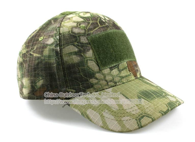 3D Outdoor Sport beach cap Combat Tactical Caps Military hat Python Snake Skin Caps Camouflage Visors Sun Hat