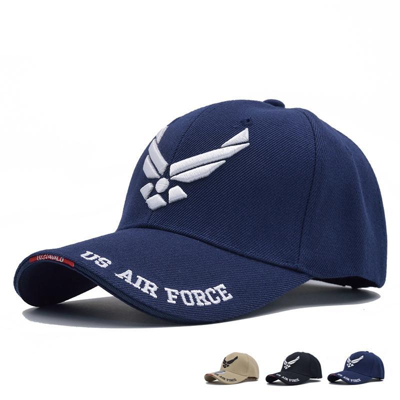 Mens US Air Force Ricamo Cappellino Airsoftsports tattico Caps Navy Seal Army Cap Gorras Beisbol per l'adulto unisex