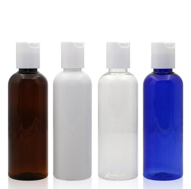 100ml Blue Brown Clear White Empty Plastic Packaging Bottles New Style Refillable Empty Containers SN4372