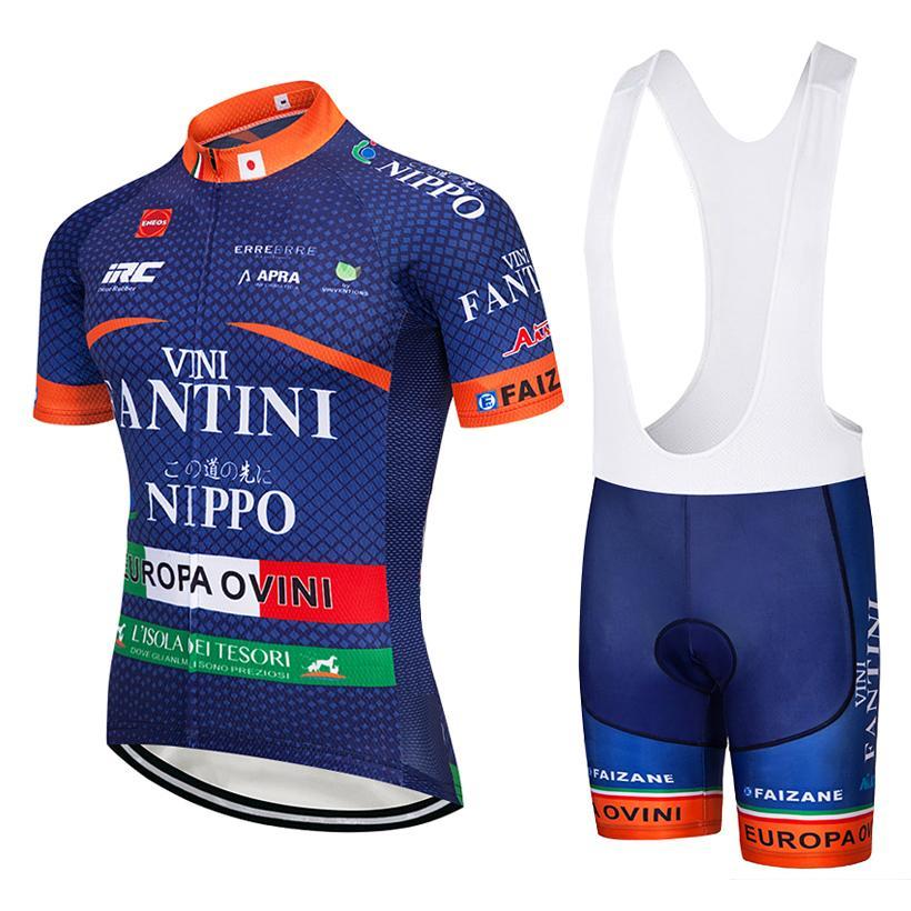 Nippo Pro Cycling Team Jersey 9D bicicletas cortocircuitos de Ropa Maillot Ciclismo Ciclismo Ropa de Hombre MTB Mountain Bike conjunto Jersey hombre