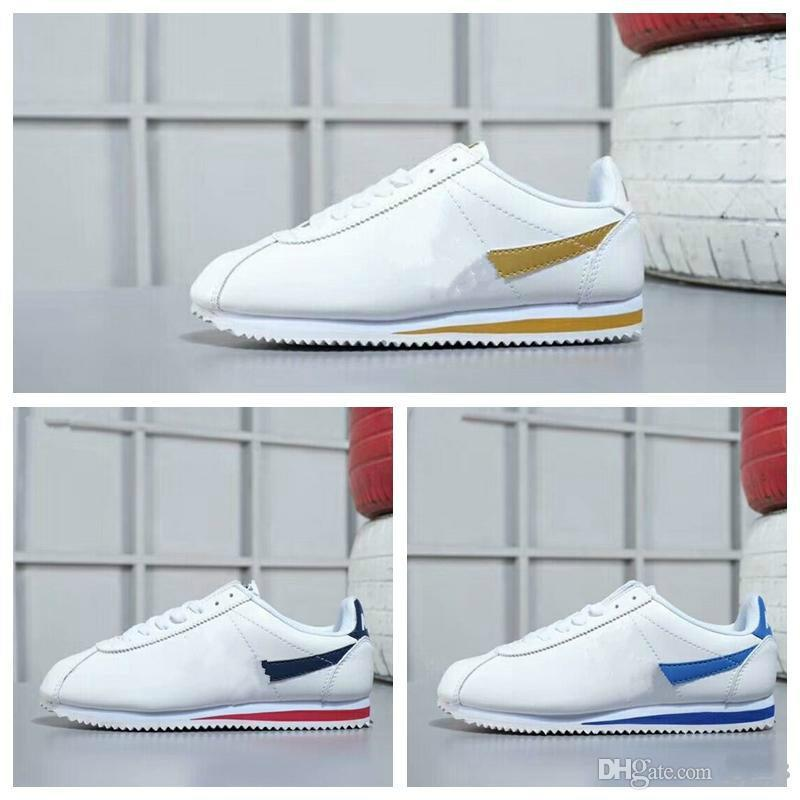 Sıcak satış yeni markalar Sneakers büyüklüğü 36-45 açık naylon prm ayakkabı eğlence Kabuklar ayakkabı Deri moda Cortez Günlük Ayakkabılar erkekler ve kadınlar