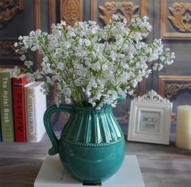 Gypsophila Bebek Nefesi Yapay İpek Çiçek Bitki Ev Düğün Dekorasyon Dekoratif Çiçekler Gelin Buketi Dekorasyon Çiçekler DA173