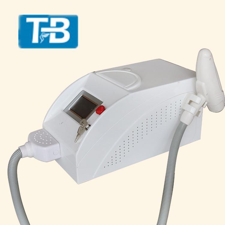 Macchina di rimozione del tatuaggio del laser del laser del ND Yag di trattamento della pelle del laser di mini dimensione non invasiva per il petto o decollete