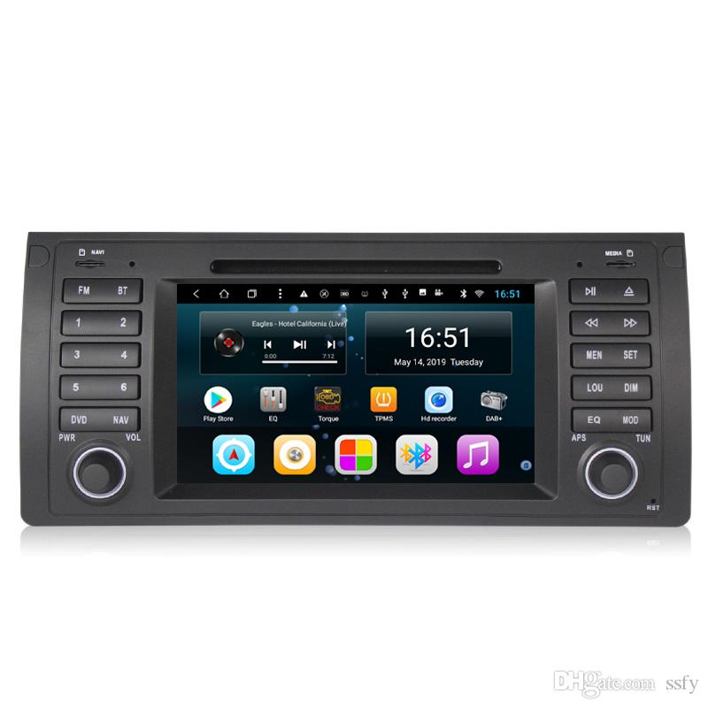 Android 7inch 8-core for BMW E39 car excellent Bluetooth Steering Wheel WIFI Bluetooth GPS Navigation Wifi Head Unit