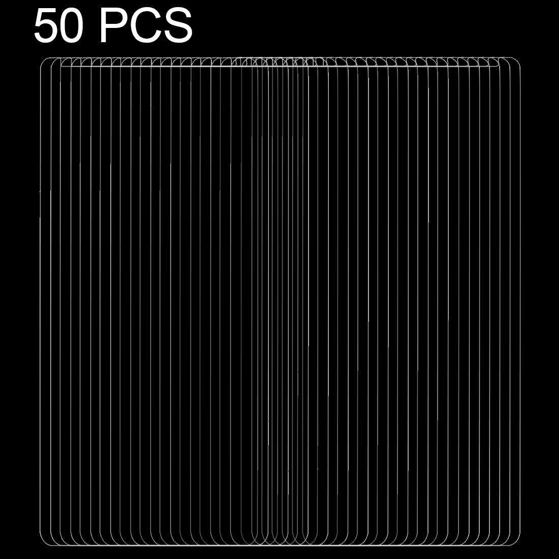 50 PCS pour Galaxy S9 + 0.26mm 9H Surface dureté 2.5D bord incurvé non-plein écran en verre trempé avant Protecteur d'écran