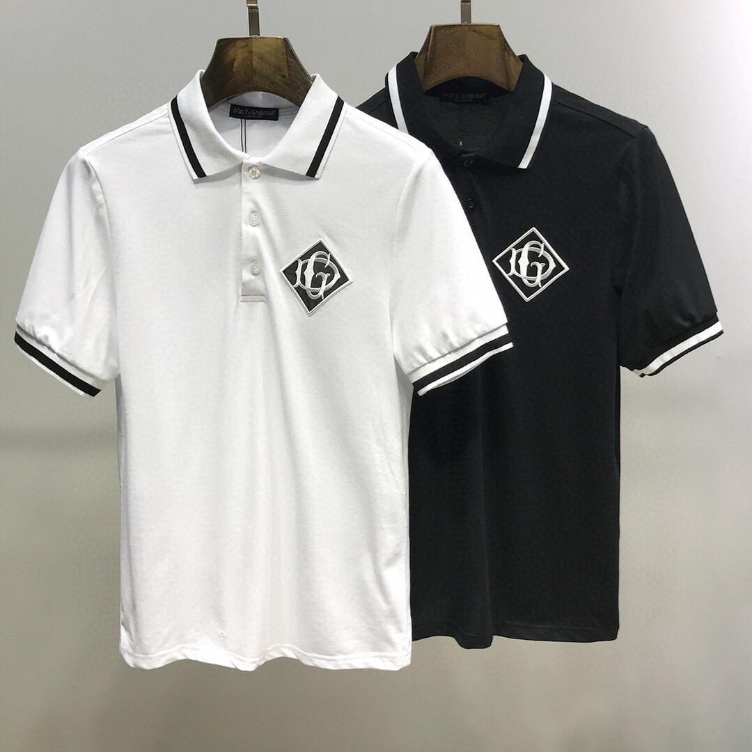 estate 2020 camicia di moda di strada di polo del progettista di marca di lusso maglietta maglietta casuale del progettista della stampa di moda T-shirt Dimensioni-XXL gli uomini della C088