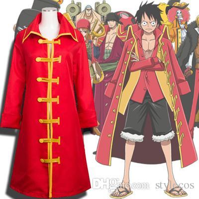 One Piece Luffy Çünkü Deniz Hırsızı Yeni Dünya Luf Pelerin Pelerin Luffy Bir veya Iki Nesil Cosplay Giysi