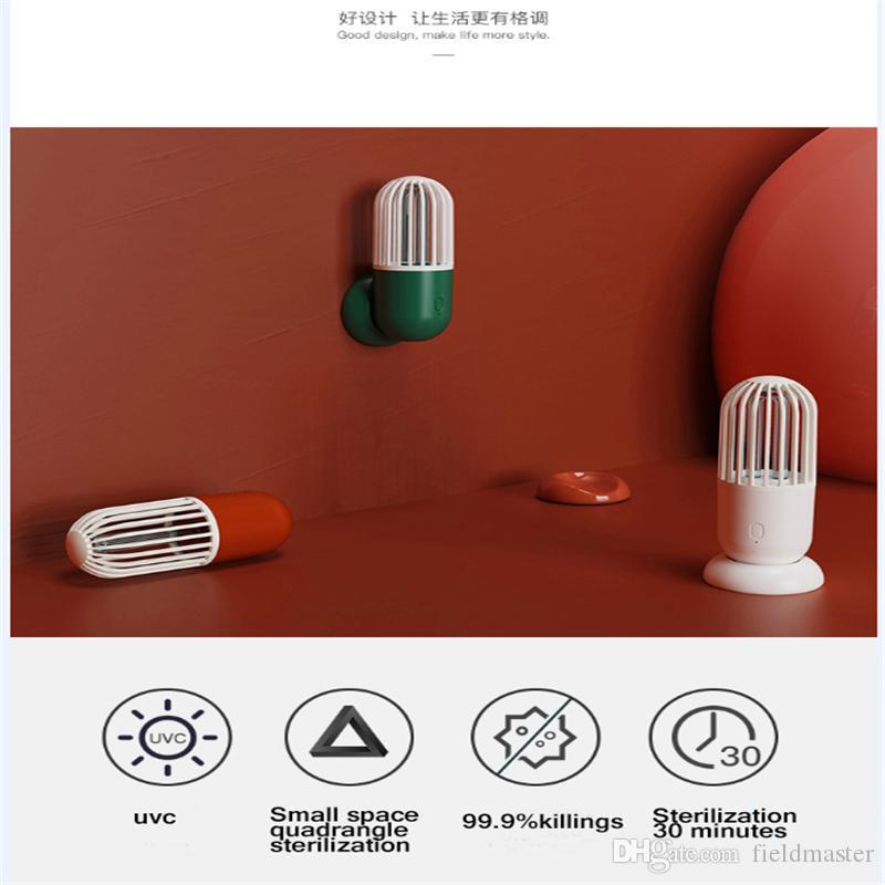 светодиодные УФ бактерицидные свет портативный капсула форма мини портативный ультрафиолетового обеззараживания прибора УФ стерилизатор лампы УФ-лампа