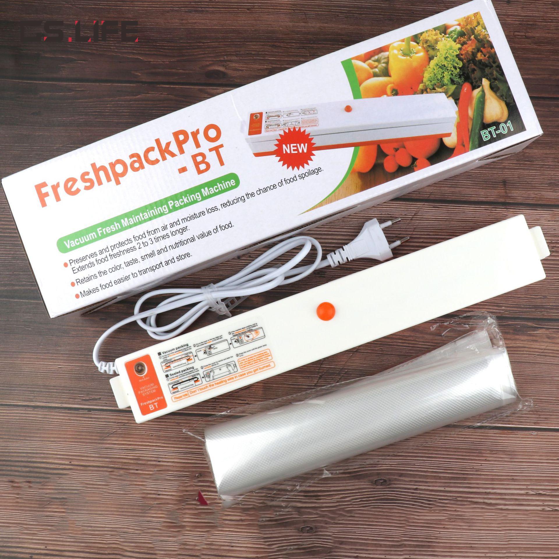 XINBAOLONG Sottovuoto per uso domestico 110 V / 220 V Sottovuoto elettrico Macchina per sigillare alimenti Confezionatrice sottovuoto EU US Plug
