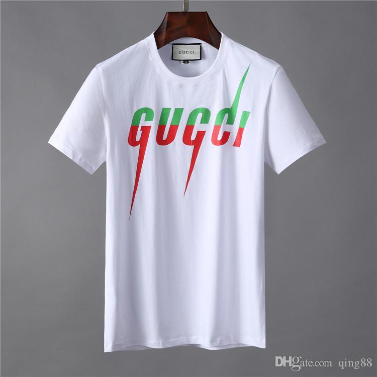 Lüks Erkek Tasarımcı T Shirt Pamuk Kısa Kollu Medusa Baskılı T Shirt Erkekler Kadınlar Yaz Casual Tees Tops