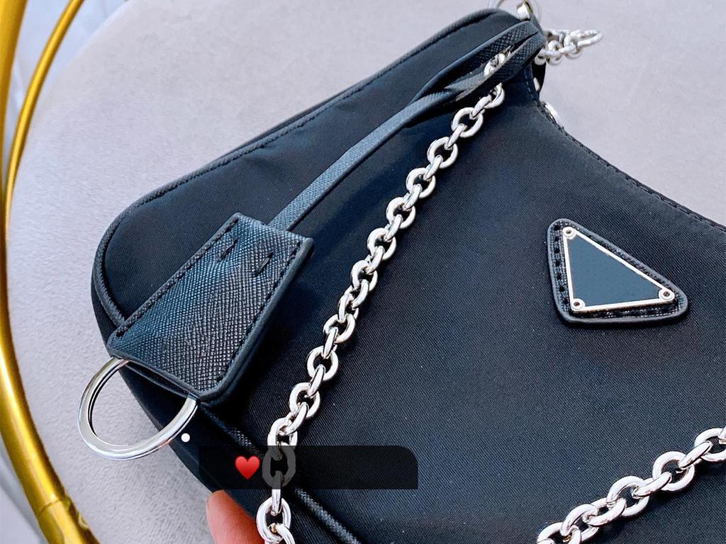 2019 novos sacos de ombro bolsas de alta qualidade Crossbody saco em forma de coração decoração encerado Nylon saco atacado Shopping Bag